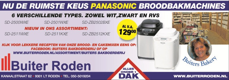 Panasonic Broodbakmachines