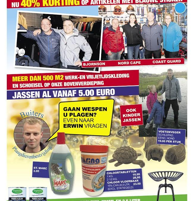 Advertentie in de Krant