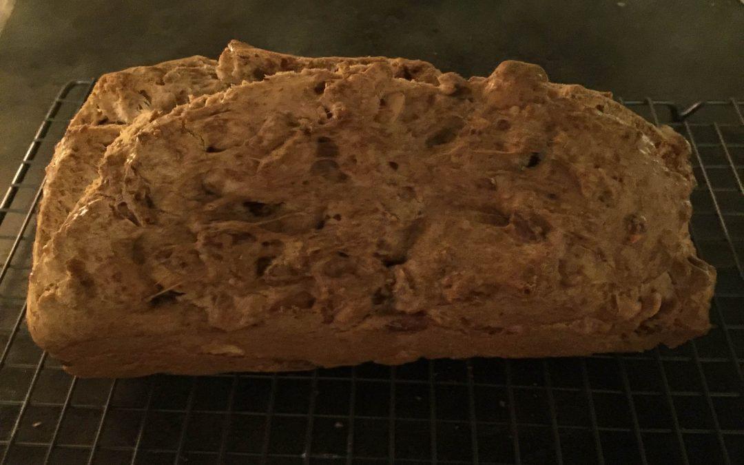 Speltmeel-notencake