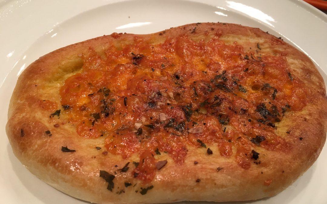 Pizzabroodjes met kaas