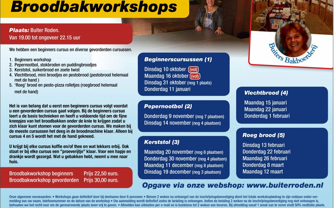 Broodbakworkshops