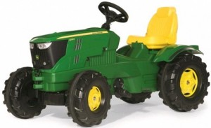 Rolly Toys John Deere 6210R traptractor