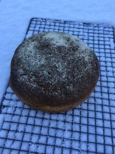 roggebol gebakken