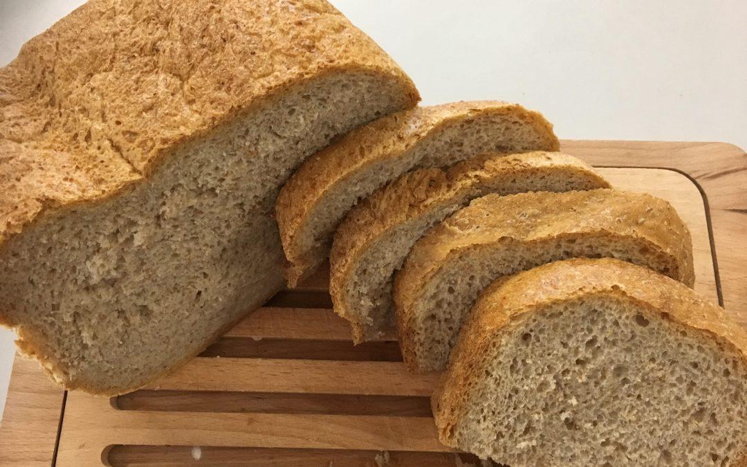 Zuurdesembrood en starter in de Broodbakmachine