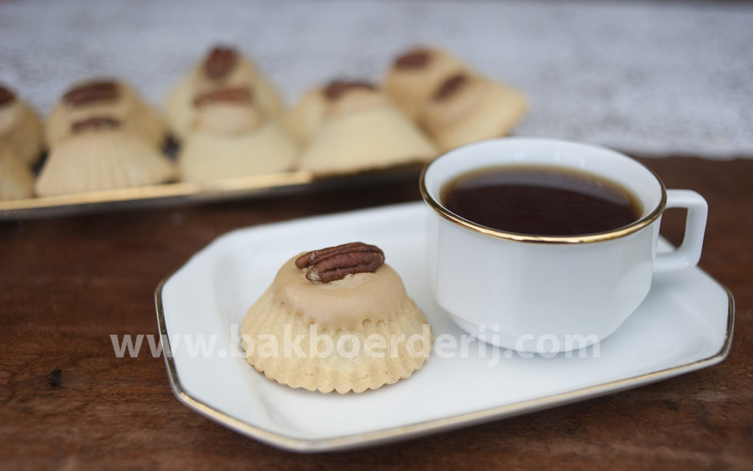 Caramel-noten gebak