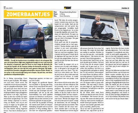 De Krant 31-7-19